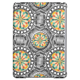 Beveled geometric pattern iPad air case