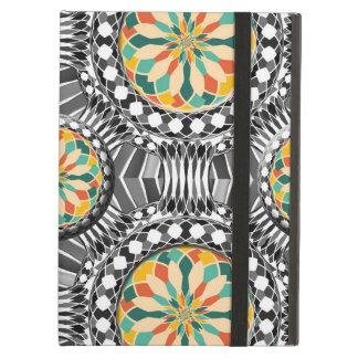 Beveled geometric pattern iPad air case