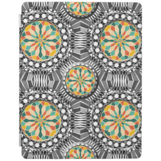 Beveled geometric pattern iPad cover