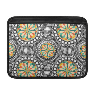 Beveled geometric pattern sleeve for MacBook air