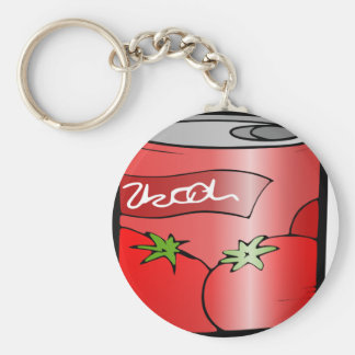 beverage can drink juice tomato key ring