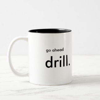 Beverage Mug for the Oil and Gas Industry