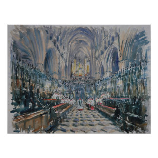 Beverley Minster - Even song Poster