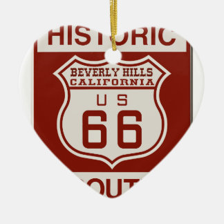 BEVERLY66 CERAMIC ORNAMENT