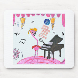 Beverly Flamingo Merchandise Mouse Pad
