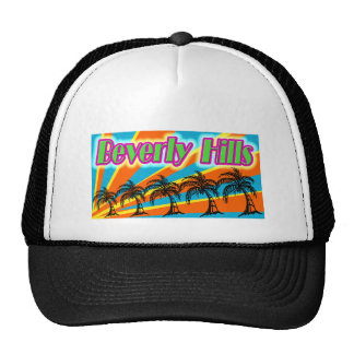 Beverly Hills 5 Palm Trees Hat