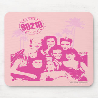 Beverly Hills 90210- Cast Mouse Pad