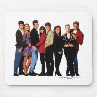 Beverly Hills 90210 Cast Mouse Pad