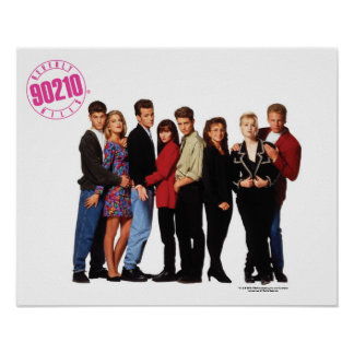 Beverly Hills 90210 Cast Poster