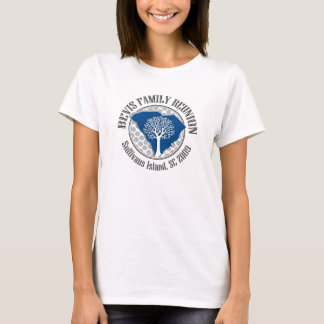 BEVIS FAMILY REUNION LADIES T-SHIRT