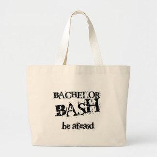 Beware Bachelor Bash Canvas Bag