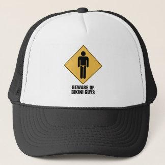 Beware Bikini Guys Trucker Hat