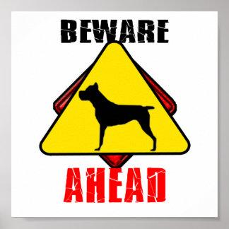 Beware C.Corso Ahead Poster