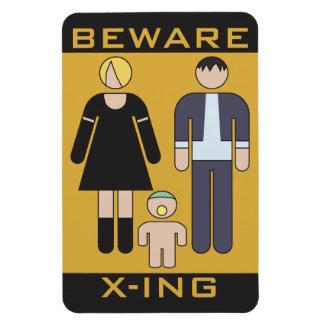 Beware Demons Magnet