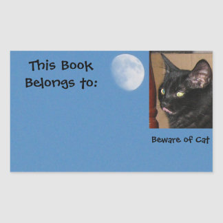 Beware of Cat Sticker