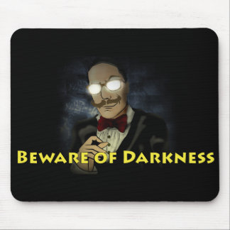 Beware of Darkness Logo Mouse Pad w/Text