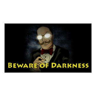 Beware of Darkness Logo Poster w/Text