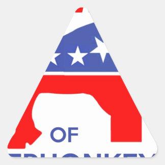 BEWARE OF ELEPHONKEY - activism/libertarian/usa Sticker