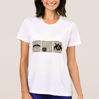 Beware of Falling Objects Ladie's Micro Fiber T Tee Shirt