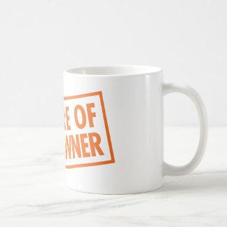 Beware of Gun Owner Basic White Mug