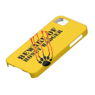 Beware of honey badger iPhone 5 cover