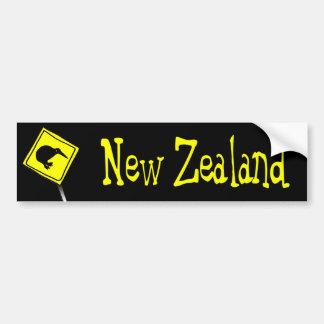Beware of Kiwis Bumper sticker