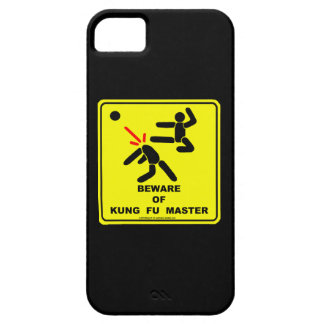 Beware of Kung Fu master Barely There iPhone 5 Case