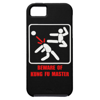 Beware of Kung Fu master iPhone 5 Case