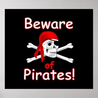 Beware of Pirates Poster