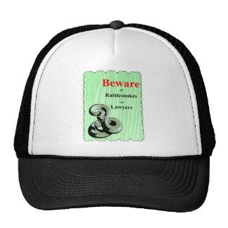Beware of Rattlesnakes Cap