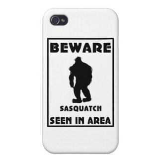 Beware of Sasquatch Poster Cases For iPhone 4