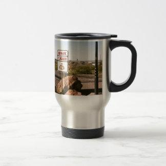 Beware Of The Snake Travel Mug