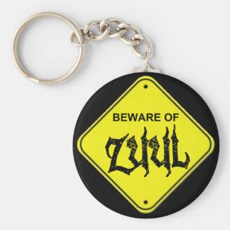 Beware of Zuul Keychain