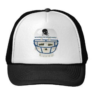 BEWARE THE BLACK HOLE... GRAPHIC FOOTBALL PRINT CAP