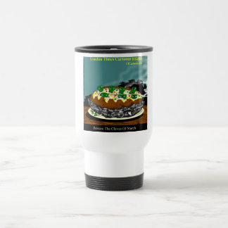 Beware The Chives Of Starch Funny Potato Travel Mug