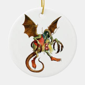 Beware the Jabberwock, my son! from Wonderland Ceramic Ornament