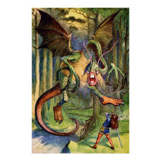 Beware the Jabberwocky, My Son Poster
