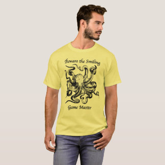 Beware the Smiling Game Master RPG Shirt