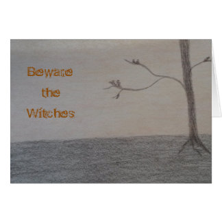 Beware the Witches Holiday Card