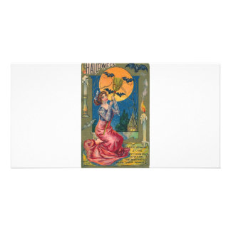 Beware the Witching Hour! Photo Card Template