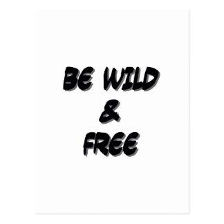 BeWildAndFree Postcard