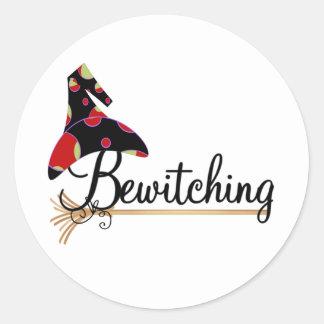 Bewitching Classic Round Sticker