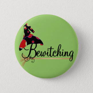 Bewitching Halloween Tshirts and Gifts 6 Cm Round Badge