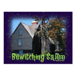 Bewitching Salem Postcard