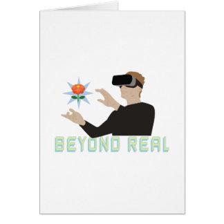 Beyond Real Card