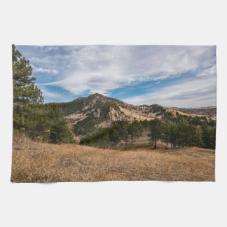 Beyond The Boulder Red Rocks Kitchen Towel
