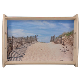 Beyond the dunes serving tray