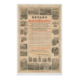 Beyond the Mississippi (0023A) Poster
