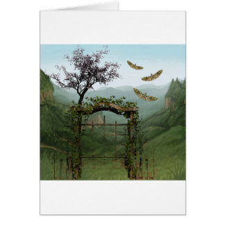 BEYOND THE OLD GARDEN GATE CARD