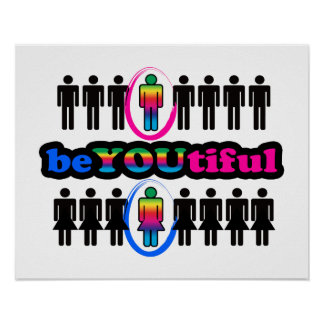 BeYOUtiful And Gay Poster